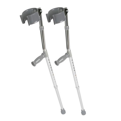 Medline G05161 Guardian Forearm Crutches