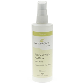Soothe and Cool No-Rinse Perineal Wash Spray With Aloe