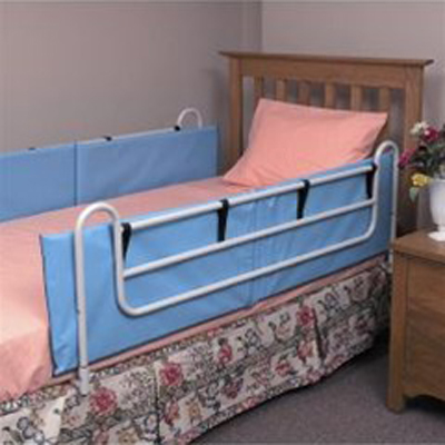 Mabis Vinyl Bed Rail Cushions