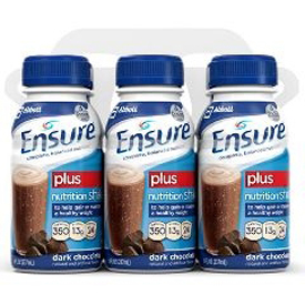 Ensure Plus Shakes - 8 Fl Oz Reclosable Bottles - Case 24