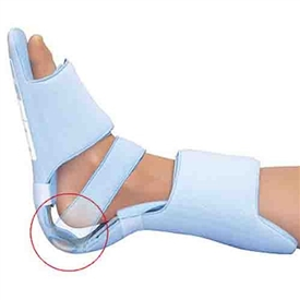 HealWell Soft Ease Foot Brace