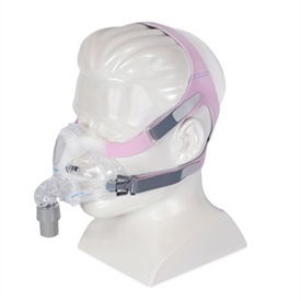 Resmed Quattro Fx For Her Full Face Cpap Mask And Headgear