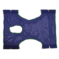Invacare Polyester Mesh Sling with Commode Opening