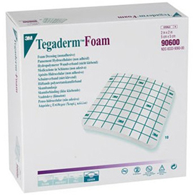 Tegaderm Foam Non-adherent Dressing by 3M