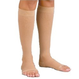 Activa Anti-Embolism Knee High, Open Toe, 18 MM HG