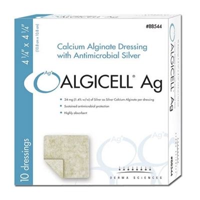Algicell Calcium Alginate with Silver by Derma Sciences