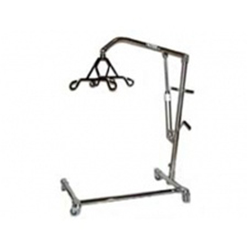 Hoyer 6-Point Chrome Hydraulic C Base Patient Lift