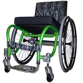 Spazz Ultralight Wheelchair by Colours