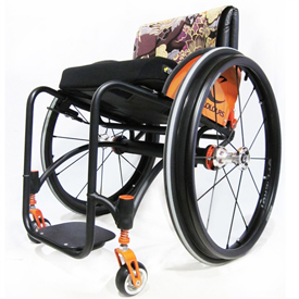 Zephyr Ultra Light Wheelchair by Colours