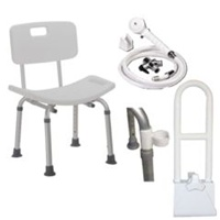 Deluxe Shower Chair Kit
