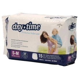 Dry Time Youth Protective Underwear by Medline
