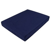 Duro-Med Polyfoam Wheelchair Cushion - Navy