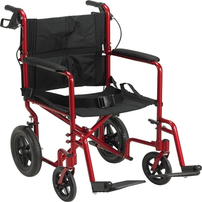 Drive Lightweight Expedition Aluminum Transport Wheelchair