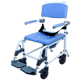 Healthline Products EZee Life Aluminum Shower Commode