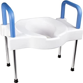 Extra Wide Tall-Ette Elevated Toilet Seat