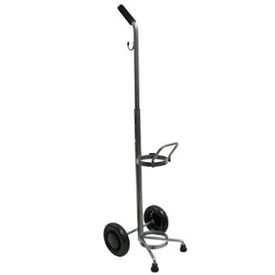Rolling 2 Two Wheel Oxygen Tank Cylinder Cart
