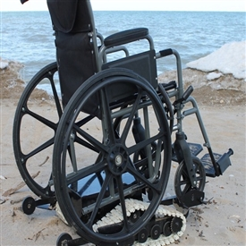 Freedom Trax - Powered Track Device For Manual Wheelchairs.