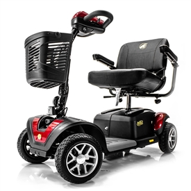 BUZZAROUND EX Extreme GB148 4-Wheel Heavy Duty Long Range Travel Scooter