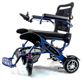 Geo Cruiser DX Lightweight Compact Folding Lithium Electric Power Wheelchair
