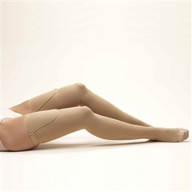Activa Anti-Embolism Thigh High Closed Toe Stockings -18 Mm Hg Uni-Band Top