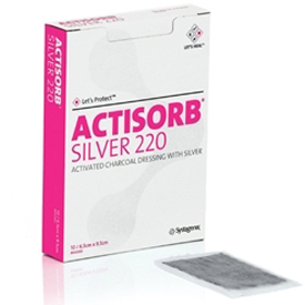 ACTISORB Silver 220 Antimicrobial Binding Dressing