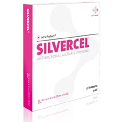 Silvercel Antimicrobial Alginate Dressing - Sterile