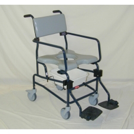 "Activeaid JTG 605 Shower Commode Chair w/ 5"" Casters"