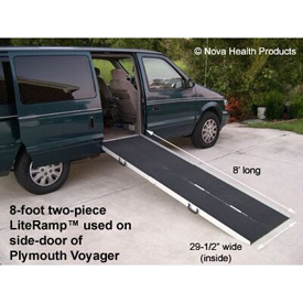 LiteRamp Wheelchair - Scooter Folding Ramp