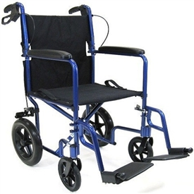 "Karman 12"" Rear Wheel Transport Chair"