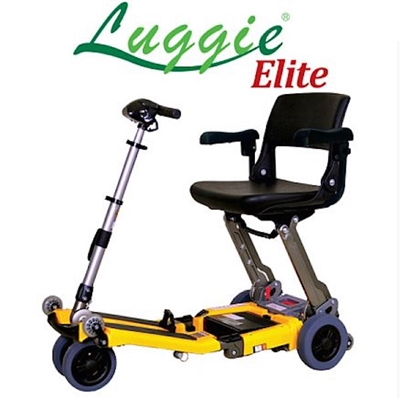 Luggie Elite Folding Travel Scooter
