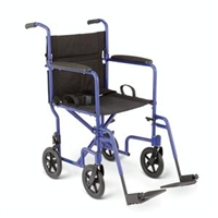 Medline Deluxe Transport Wheelchair