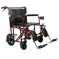 Medline Bariatric Transport Chair