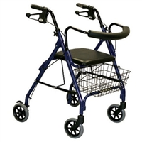 Medline Folding Rollator Walker
