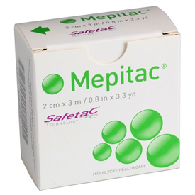 Molnlycke Mepitac Soft Silicone Tape