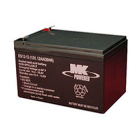 MK Sealed Battery, AGM 12V 12AH, - ES12-12