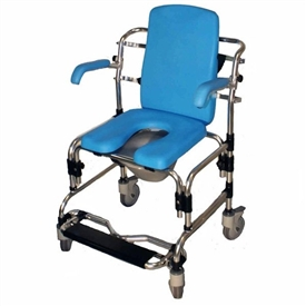 Provider Caspian Mobile Shower Commode Chair