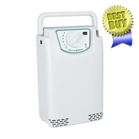 EasyPulse Portable Oxygen Concentrator With External Battery
