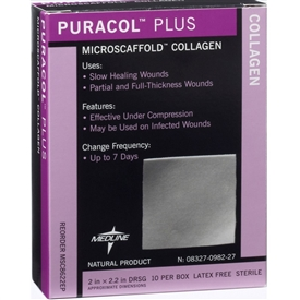 Medline Puracol Plus Collagen Dressing