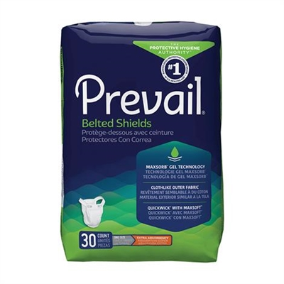 Prevail Extra Absorbency Belted Shields