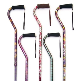 Drive Adjustable Standard Cane with Derby Handle