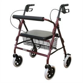 Karman Extra Wide Bariatric Rollator