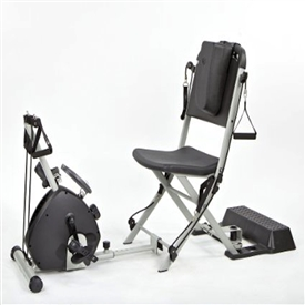 Resistance Chair & Smooth Rider II Exercise cycles Combo Package