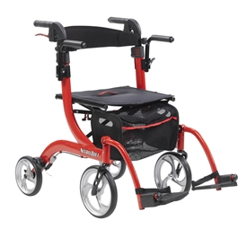 Euro Style Nitro Duet Combination Rollator and Transport Chair