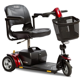 Pride Go-Go Elite Traveller Plus 3-Wheel Scooter