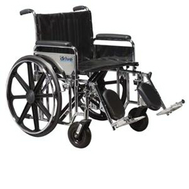Drive Sentra HD500 Heavy Duty Wheelchair