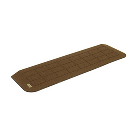 Prairie View Industries Stonecap Rubber Threshold Ramp