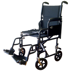 Karman Removable Arm Transport Chair