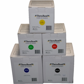 Thera-Band Latex Exercise Bands - 50 Yard Lengths