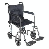 Wrangler II Transport Wheelchair