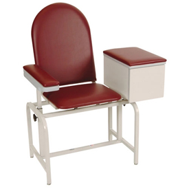 Winco 2572 Blood Drawing Chair with Cabinet